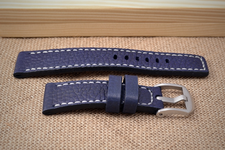 Blue watch strap