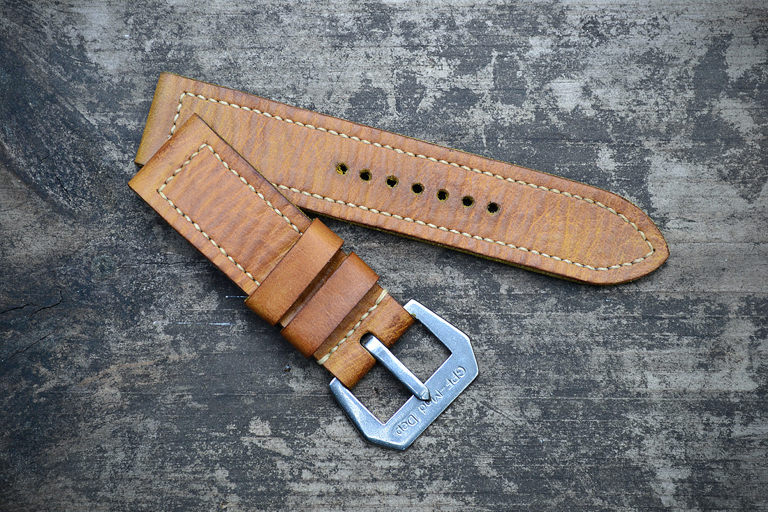 how to make leather rouleau straps